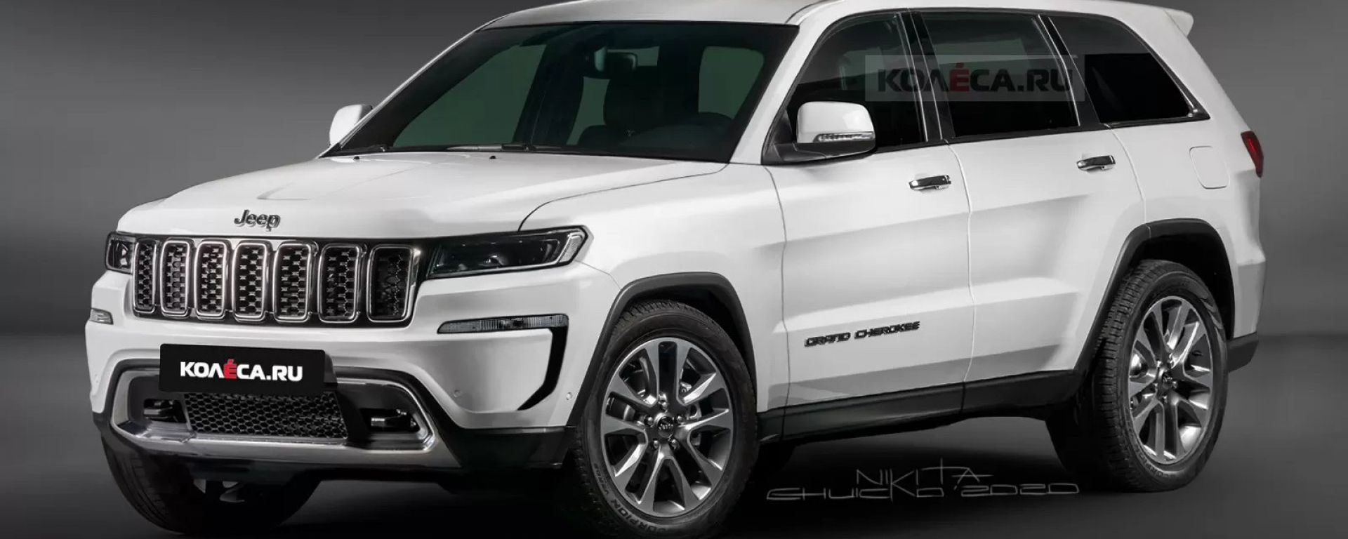 Nuova Jeep Grand Cherokee, il render di Nikita Chuiko
