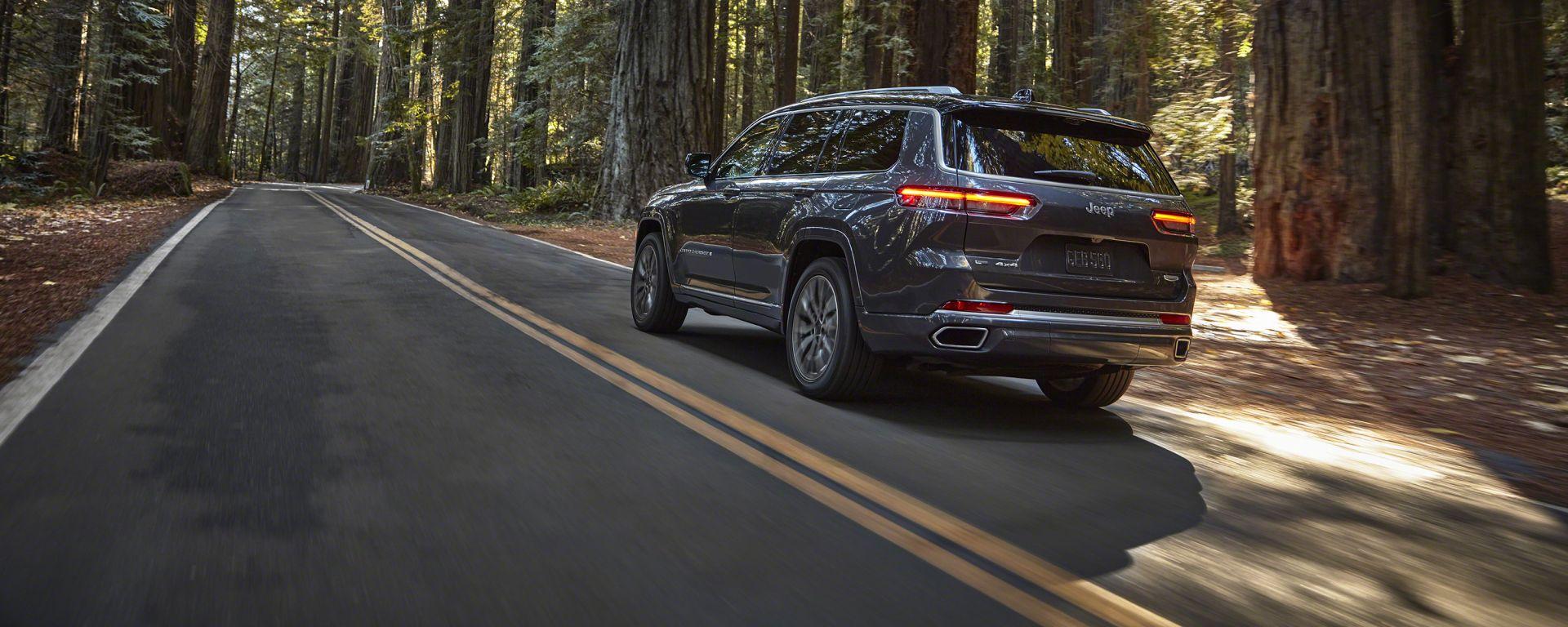 Nuova Jeep Grand Cherokee L 2021