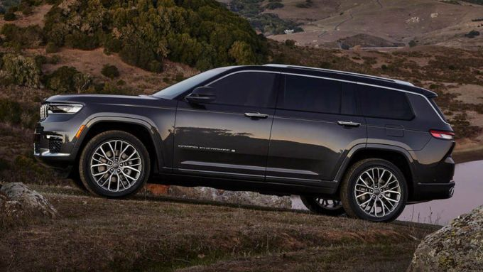 Nuova Jeep Grand Cherokee L
