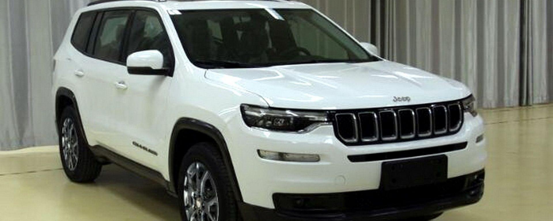 Nuova Jeep Grand Commander: le prime immagini in rete