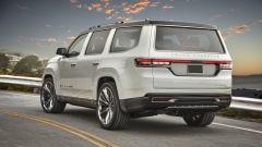 Nuova Jeep Grand Wagoneer, in vendita dal 2021