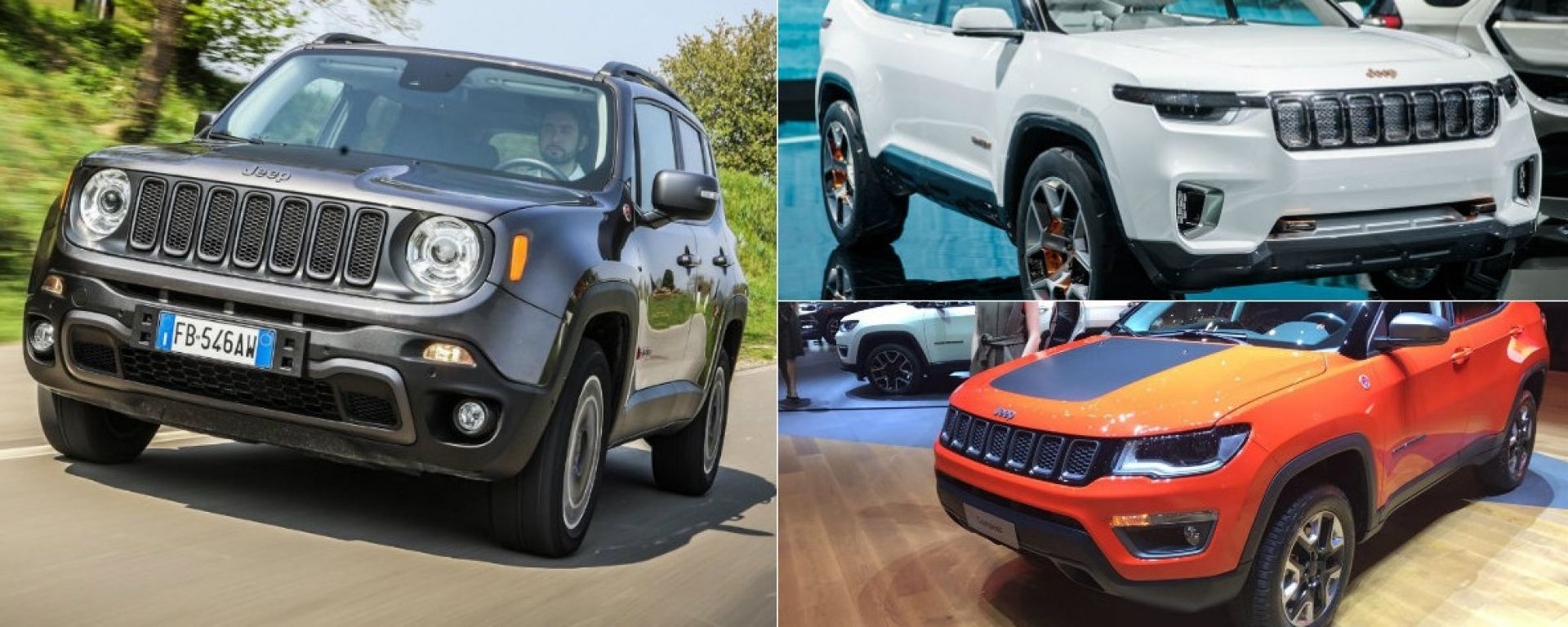 nuova jeep renegade 2018 come cambier col restyling motorbox. Black Bedroom Furniture Sets. Home Design Ideas