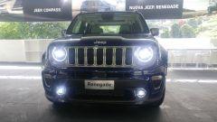 Nuova Jeep Renegade 2019: fari full LED all'anteriore