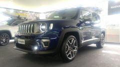 Nuova Jeep Renegade 2019: vista 3/4 anteriore