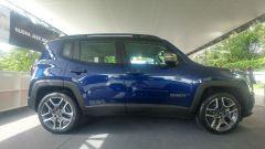 Nuova Jeep Renegade 2019: vista laterale