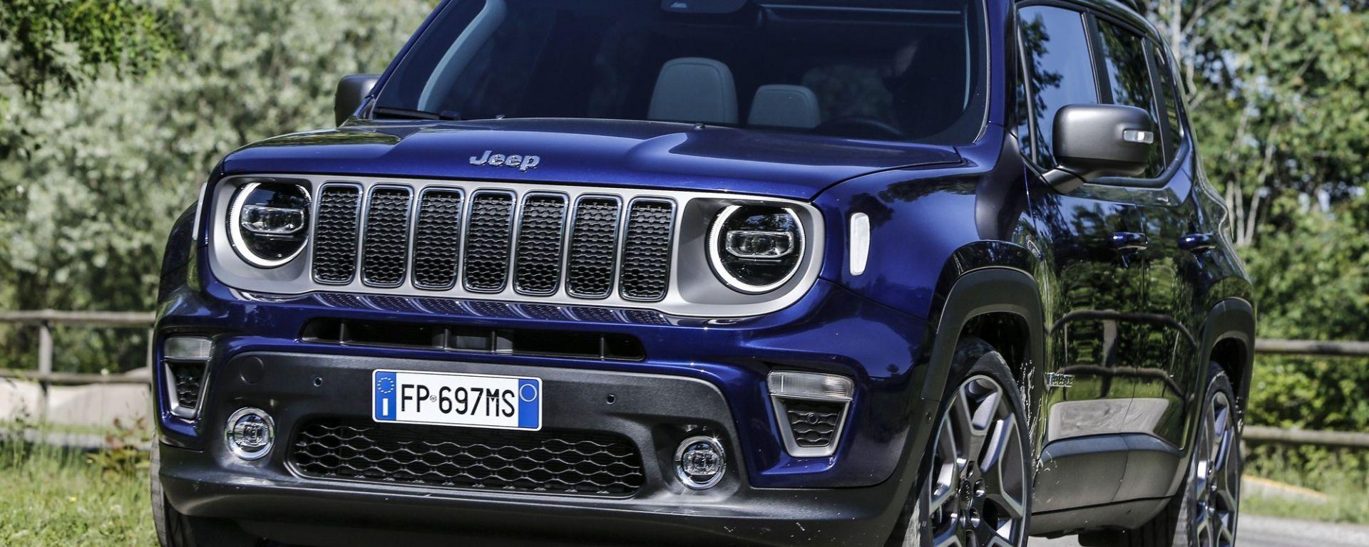 Jeep Renegade Restyling 2018 >> Nuova Jeep Renegade 2019: le novità del restyling, motori, prezzo - MotorBox