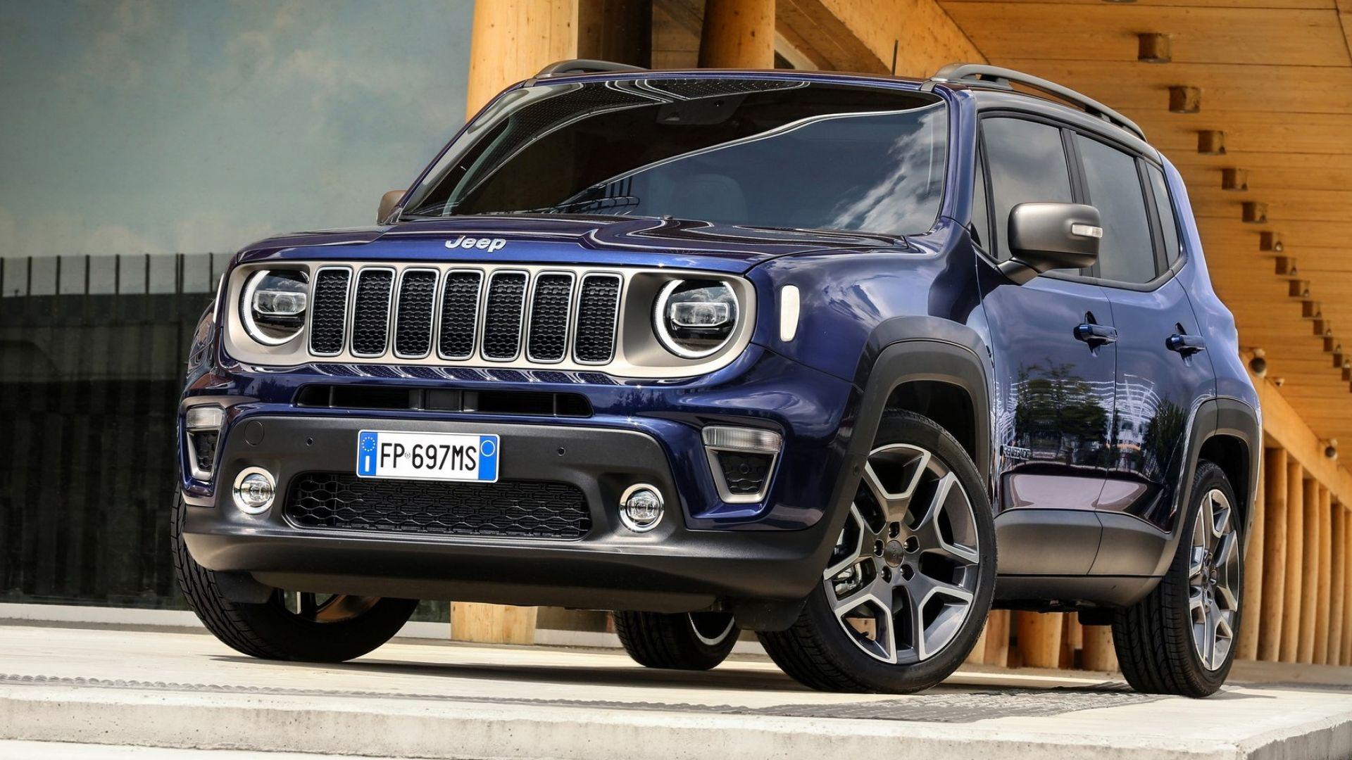 Nuova Jeep Renegade ibrida plug-in, in produzione a Melfi ...