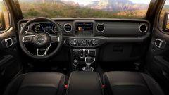 Nuova Jeep Wrangler 2018: gli interni