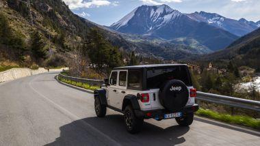 Nuova Jeep Wrangler 4xe: potenza e coppia combinate di 380 CV e 637 Nm