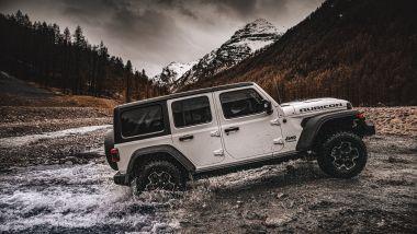 Nuova Jeep Wrangler 4xe:capacità di guado fino a 76 cm