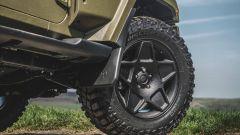 Nuova Jeep Wrangler Black Hawk Expedition: dettaglio ruota