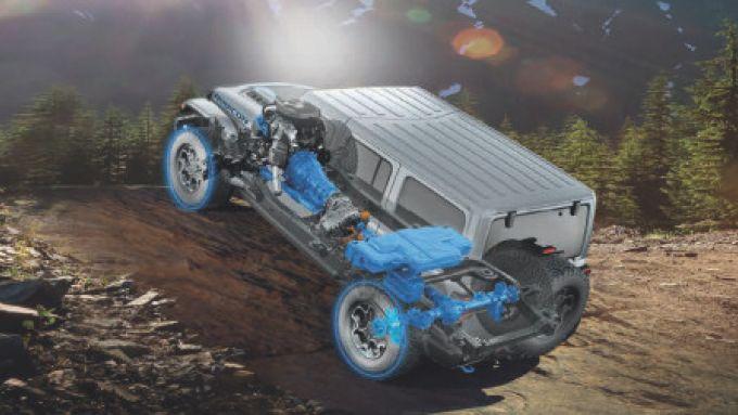 Nuova Jeep Wrangler Performance Parts: un 4x4 dall'anima ''green'' ma molto speciale