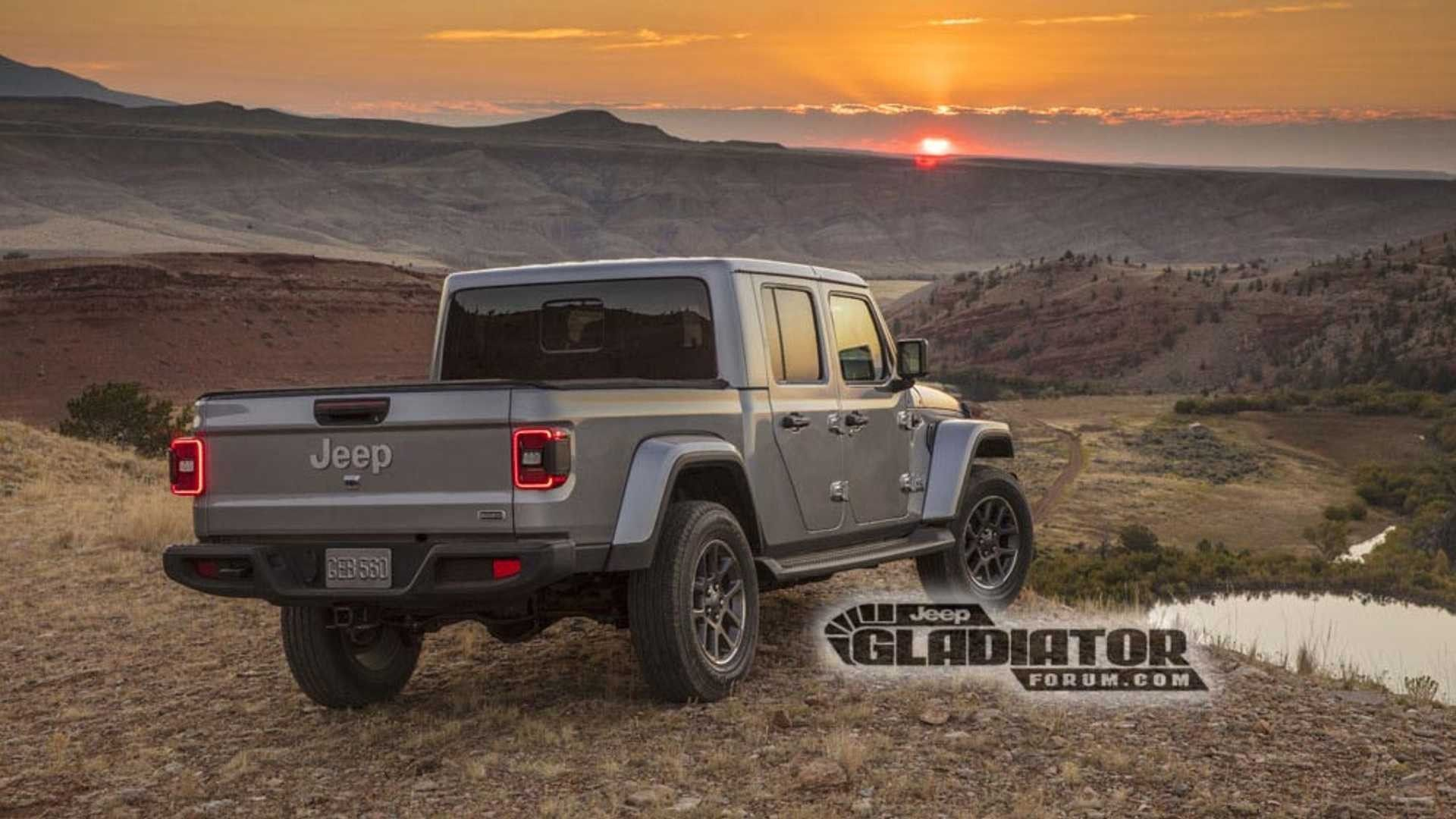 Nuova Jeep Gladiator 2019: il Wrangler pick up si svela ...