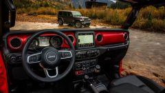 Nuova Jeep Wrangler- svelati gli interni