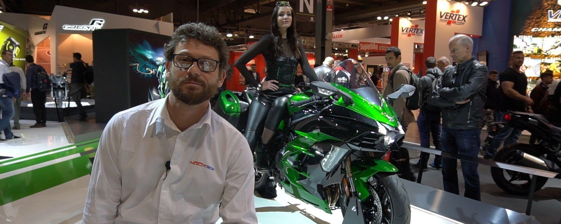 Nuove Kawasaki H2 SX e SX SE: le sport touring col turbo [VIDEO]