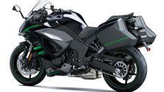 Nuova Kawasaki Ninja 1000sx: con le valigie laterali