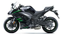 Nuova Kawasaki Ninja 1000sx: nella colorazione nero/grigio