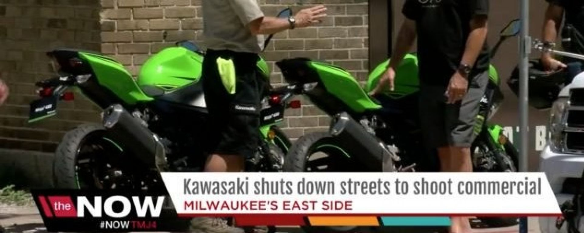 Nuova Kawasaki Ninja 400, ecco gli scatti rubati a Milwaukee