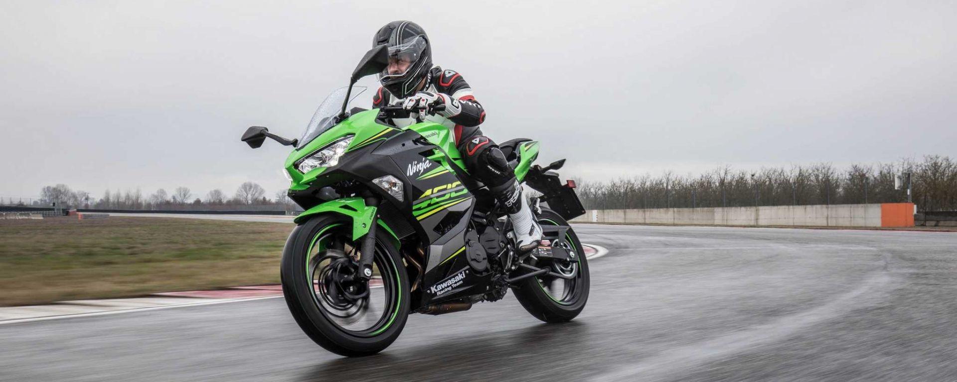Nuova Kawasaki Ninja 400: prova su strada e in pista