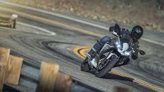 Nuova Kawasaki Ninja 650 2020: il frontale della versione bianco/nera