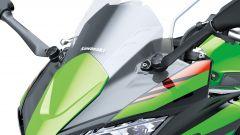 Nuova Kawasaki Ninja 650 2020: il frontale è più protettivo