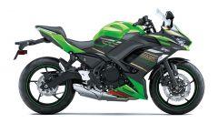 Nuova Kawasaki Ninja 650 2020: la colorazione verde ispirata alla moto campione in Superbike