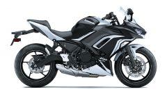 Nuova Kawasaki Ninja 650 2020: la grafica bicolore bianco/nero
