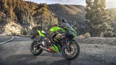 Nuova Kawasaki Ninja 650 2020: linea da supersportiva, ma manubrio rialzato
