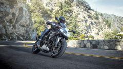 Nuova Kawasaki Ninja 650 2020: primo piano dell'avantreno