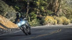 Nuova Kawasaki Ninja 650 2020: vista frontale