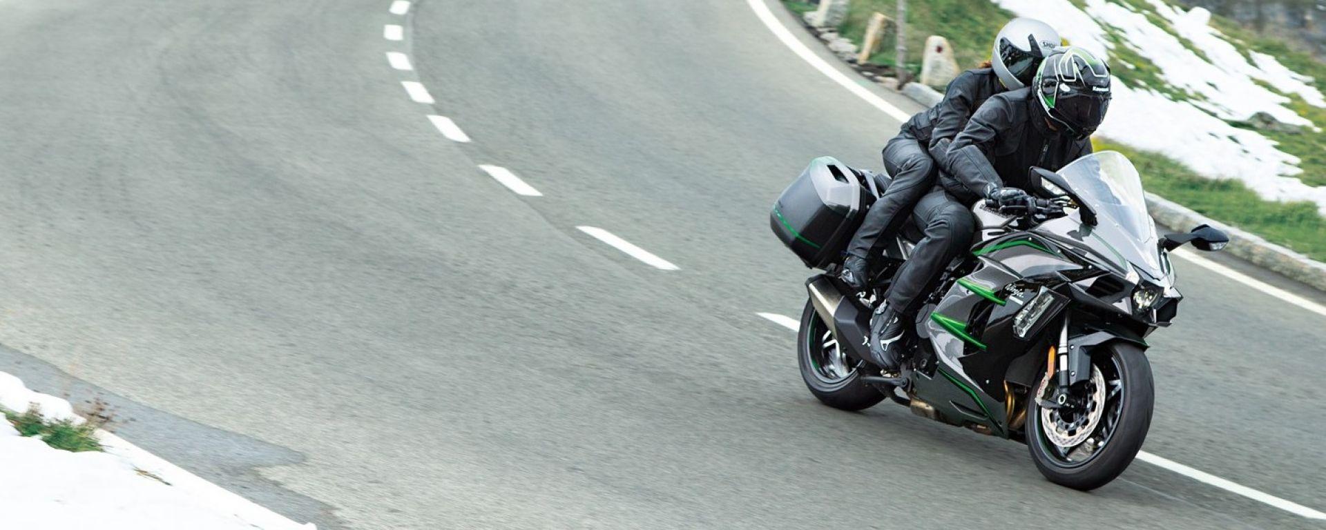Nuova Kawasaki Ninja H2 SX SE+