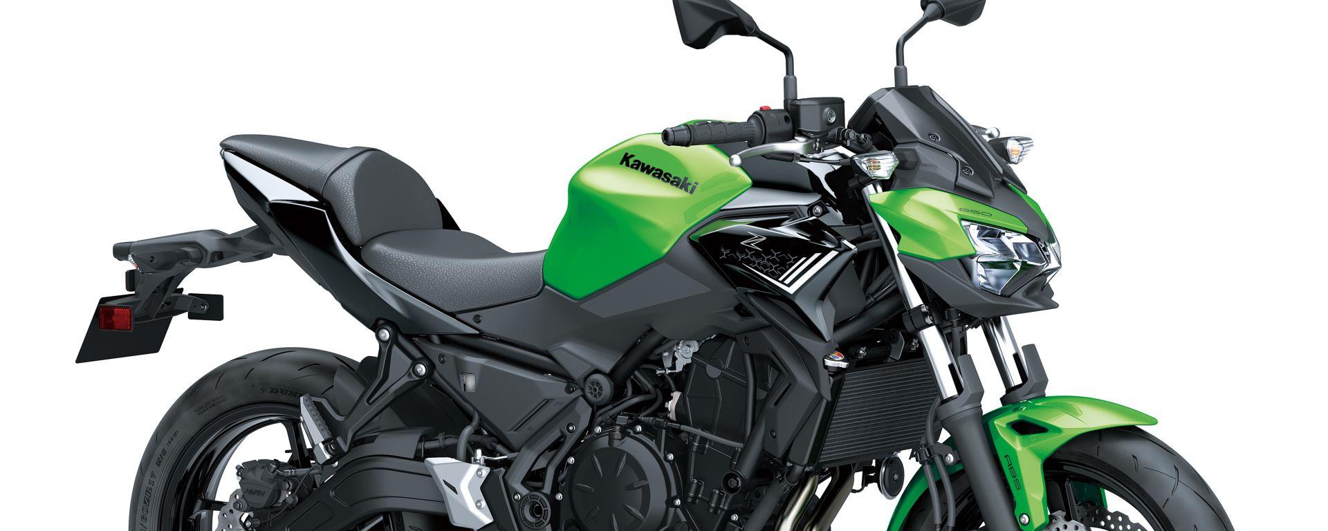 Nuova Kawasaki Z650: a EICMA 2019 le novità della naked media