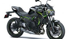 Nuova Kawasaki Z650: nel colore nero