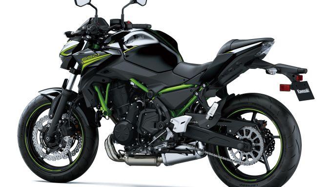 Nuova Kawasaki Z650: piccoli aggiornamenti per la naked giapponese