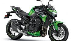 Nuova Kawasaki Z900: nella versione verde/nera