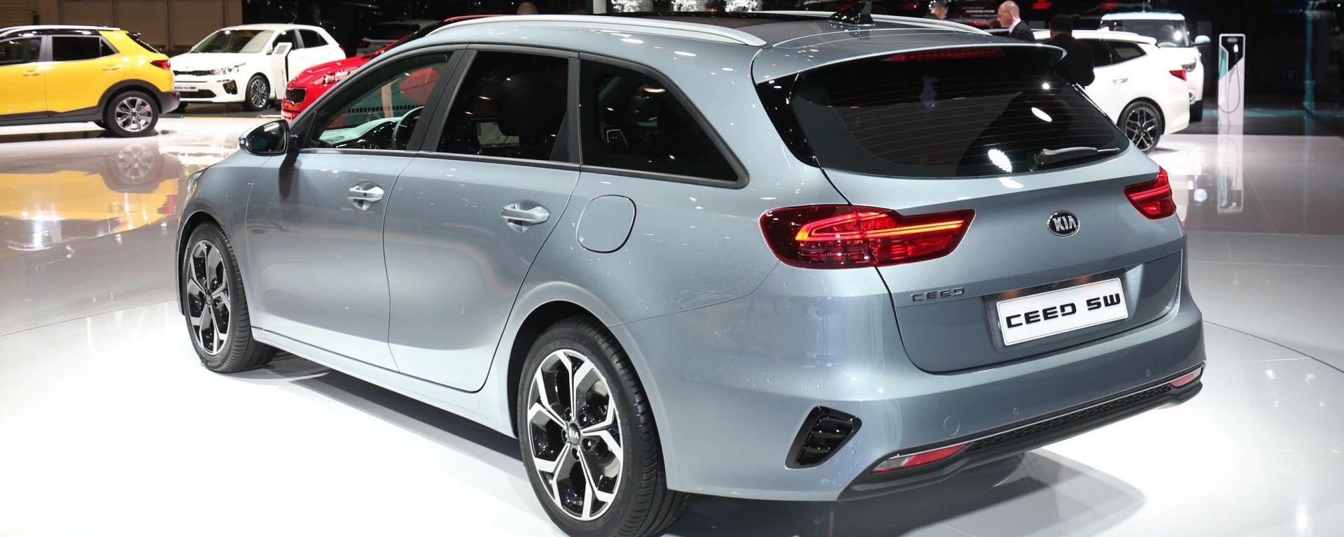 Nuova Kia Ceed 2018: in video dal Salone di Ginevra 2018