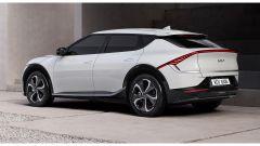 Nuova Kia EV6: gli originali fari a LED posteriori