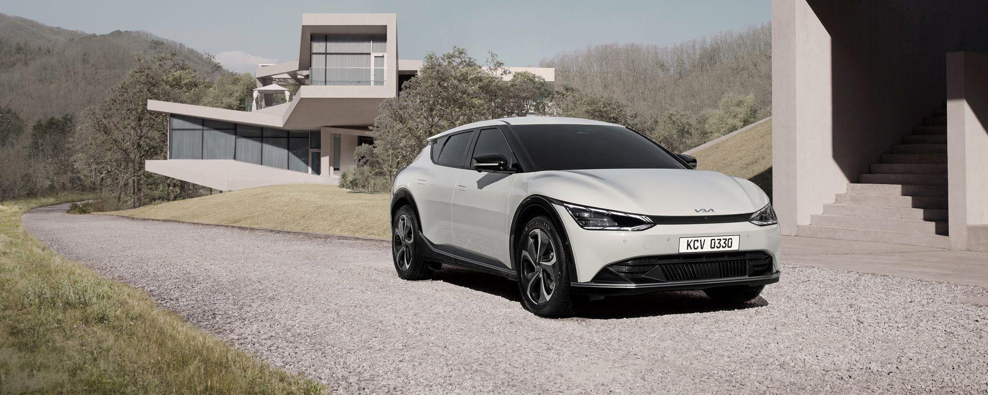 Nuova Kia EV6: il primo SUV elettrico della Casa coreana