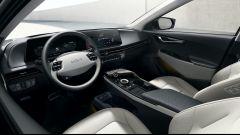 Nuova Kia EV6: l'abitacolo dall'impronta molto moderna e tecnologica