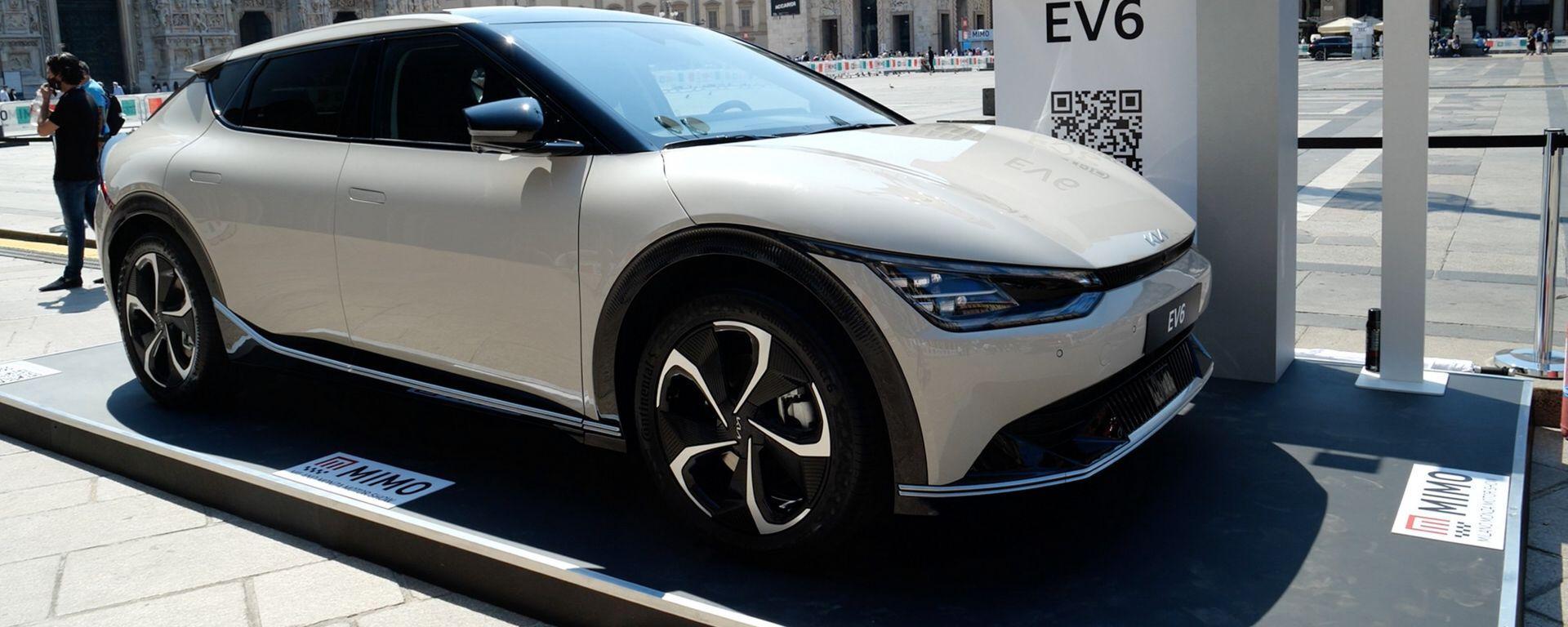 Nuova Kia EV6, MIMO 2021