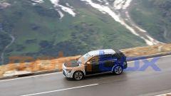 Nuova Kia Niro: una fase dei collaudi al freddo delle montagne austriache