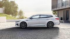 Nuova Kia Optima Sportswagon GT Line 2018: vista laterale
