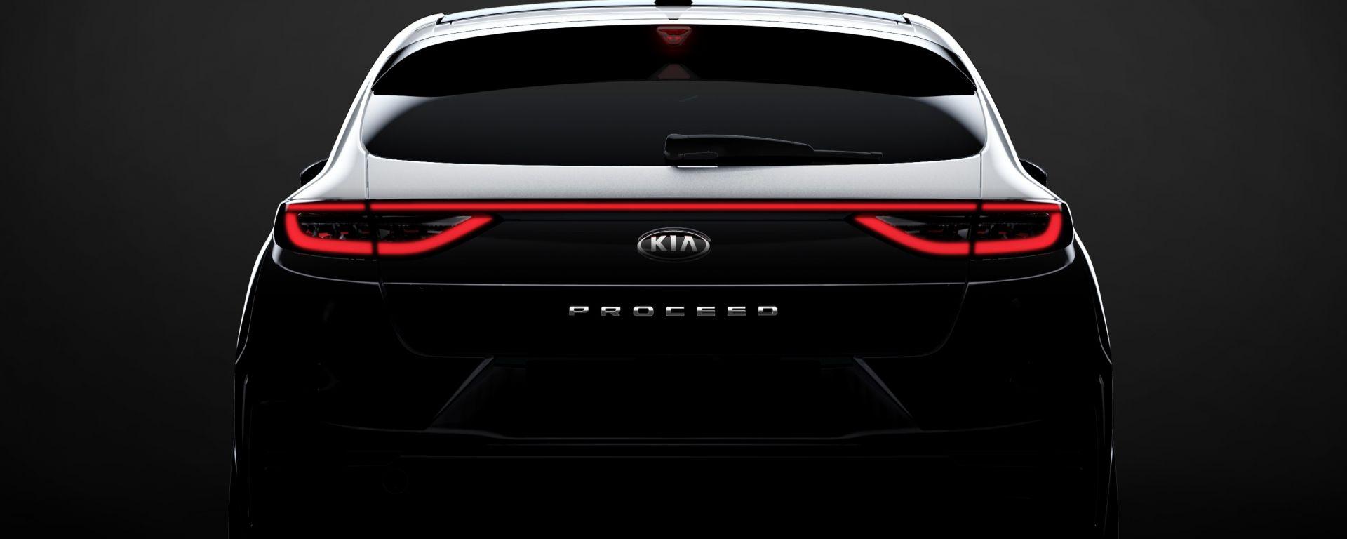 Kia Proceed GT 2019: la prima foto della nuova shooting brake