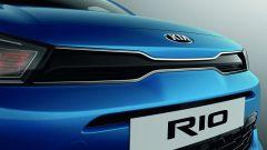 Nuova Kia Rio 2021: la nuova calandra Tiger Nose più stretta