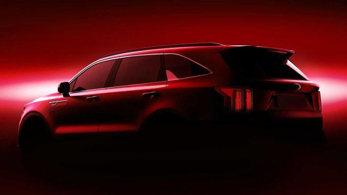 Nuova Kia Sorento: anche hybrid
