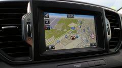 Nuova Kia Sportage 1.7 CRDi Class: lo schermo touch da 7 pollici