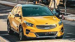 Nuova Kia Xceed 2019: il frontale