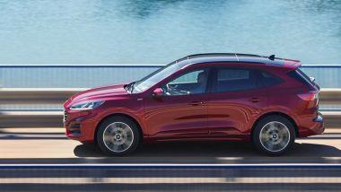Nuova Kuga Hybrid, consumi medi di 5,7 l/100 km