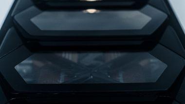 Nuova Lamborghini Countach 2022, una finestra sul V12