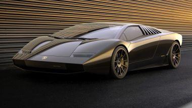 Nuova Lamborghini Countach: design che combina presente con passato e motore ibrido da 800 CV